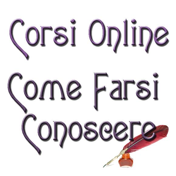 Corso Online Come Farsi Conoscere logo